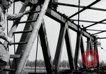 Image of construction work Mainz Germany, 1954, second 45 stock footage video 65675031789