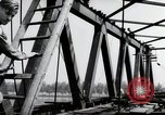 Image of construction work Mainz Germany, 1954, second 46 stock footage video 65675031789