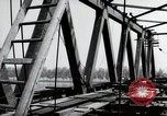 Image of construction work Mainz Germany, 1954, second 50 stock footage video 65675031789