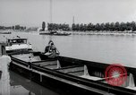 Image of construction work Wiesbaden Germany, 1954, second 28 stock footage video 65675031794