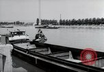 Image of construction work Wiesbaden Germany, 1954, second 29 stock footage video 65675031794