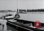 Image of construction work Wiesbaden Germany, 1954, second 30 stock footage video 65675031794
