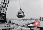 Image of construction work Wiesbaden Germany, 1954, second 35 stock footage video 65675031794