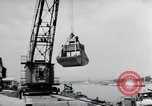 Image of construction work Wiesbaden Germany, 1954, second 36 stock footage video 65675031794