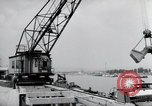 Image of construction work Wiesbaden Germany, 1954, second 51 stock footage video 65675031794