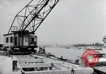 Image of construction work Wiesbaden Germany, 1954, second 52 stock footage video 65675031794