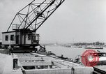 Image of construction work Wiesbaden Germany, 1954, second 53 stock footage video 65675031794