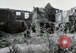 Image of damaged buildings Mainz Germany, 1954, second 23 stock footage video 65675031799