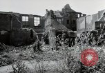 Image of damaged buildings Mainz Germany, 1954, second 27 stock footage video 65675031799