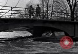 Image of Soldiers standing guard atop a bridge United States USA, 1943, second 15 stock footage video 65675031862