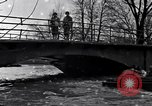 Image of Soldiers standing guard atop a bridge United States USA, 1943, second 16 stock footage video 65675031862