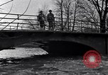 Image of Soldiers standing guard atop a bridge United States USA, 1943, second 17 stock footage video 65675031862
