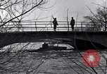 Image of Soldiers standing guard atop a bridge United States USA, 1943, second 24 stock footage video 65675031862