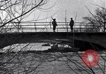 Image of Soldiers standing guard atop a bridge United States USA, 1943, second 25 stock footage video 65675031862