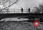 Image of Soldiers standing guard atop a bridge United States USA, 1943, second 27 stock footage video 65675031862