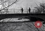 Image of Soldiers standing guard atop a bridge United States USA, 1943, second 29 stock footage video 65675031862
