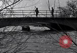 Image of Soldiers standing guard atop a bridge United States USA, 1943, second 31 stock footage video 65675031862