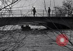 Image of Soldiers standing guard atop a bridge United States USA, 1943, second 32 stock footage video 65675031862