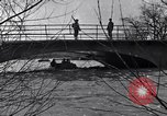Image of Soldiers standing guard atop a bridge United States USA, 1943, second 33 stock footage video 65675031862