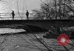Image of Soldiers standing guard atop a bridge United States USA, 1943, second 40 stock footage video 65675031862