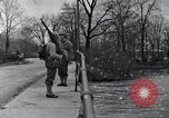 Image of Soldiers standing guard atop a bridge United States USA, 1943, second 50 stock footage video 65675031862