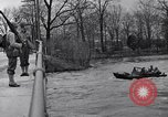 Image of Soldiers standing guard atop a bridge United States USA, 1943, second 62 stock footage video 65675031862