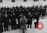 Image of Henry Ford speaks at Navy Service School United States USA, 1941, second 4 stock footage video 65675031866
