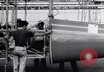 Image of BT-13 Valiant training plane being manufactured at Vultee Aircraft plant California United States USA, 1941, second 36 stock footage video 65675031871