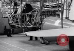 Image of BT-13 Valiant training plane being manufactured at Vultee Aircraft plant California United States USA, 1941, second 37 stock footage video 65675031871