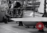 Image of BT-13 Valiant training plane being manufactured at Vultee Aircraft plant California United States USA, 1941, second 38 stock footage video 65675031871