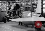 Image of BT-13 Valiant training plane being manufactured at Vultee Aircraft plant California United States USA, 1941, second 39 stock footage video 65675031871