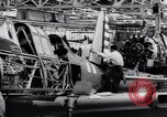 Image of BT-13 Valiant training plane being manufactured at Vultee Aircraft plant California United States USA, 1941, second 57 stock footage video 65675031871