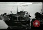 Image of tourists at restaurants West Palm Beach Florida USA, 1936, second 1 stock footage video 65675031877