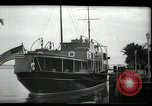Image of tourists at restaurants West Palm Beach Florida USA, 1936, second 3 stock footage video 65675031877