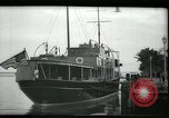 Image of tourists at restaurants West Palm Beach Florida USA, 1936, second 4 stock footage video 65675031877