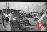 Image of tourists at restaurants West Palm Beach Florida USA, 1936, second 9 stock footage video 65675031877