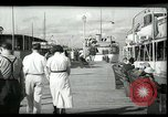 Image of tourists at restaurants West Palm Beach Florida USA, 1936, second 12 stock footage video 65675031877