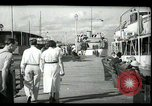 Image of tourists at restaurants West Palm Beach Florida USA, 1936, second 13 stock footage video 65675031877