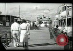 Image of tourists at restaurants West Palm Beach Florida USA, 1936, second 14 stock footage video 65675031877