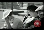 Image of tourists at restaurants West Palm Beach Florida USA, 1936, second 27 stock footage video 65675031877