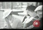 Image of tourists at restaurants West Palm Beach Florida USA, 1936, second 28 stock footage video 65675031877