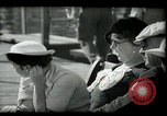 Image of tourists at restaurants West Palm Beach Florida USA, 1936, second 29 stock footage video 65675031877