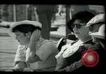 Image of tourists at restaurants West Palm Beach Florida USA, 1936, second 30 stock footage video 65675031877
