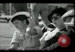 Image of tourists at restaurants West Palm Beach Florida USA, 1936, second 31 stock footage video 65675031877
