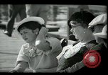 Image of tourists at restaurants West Palm Beach Florida USA, 1936, second 32 stock footage video 65675031877