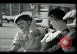 Image of tourists at restaurants West Palm Beach Florida USA, 1936, second 35 stock footage video 65675031877