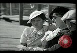 Image of tourists at restaurants West Palm Beach Florida USA, 1936, second 39 stock footage video 65675031877