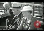 Image of tourists at restaurants West Palm Beach Florida USA, 1936, second 52 stock footage video 65675031877