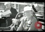 Image of tourists at restaurants West Palm Beach Florida USA, 1936, second 56 stock footage video 65675031877