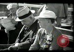 Image of tourists at restaurants West Palm Beach Florida USA, 1936, second 58 stock footage video 65675031877